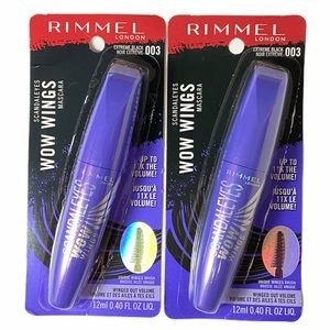 Rimmel London Scandaleye Wow Wings Mascara:Black